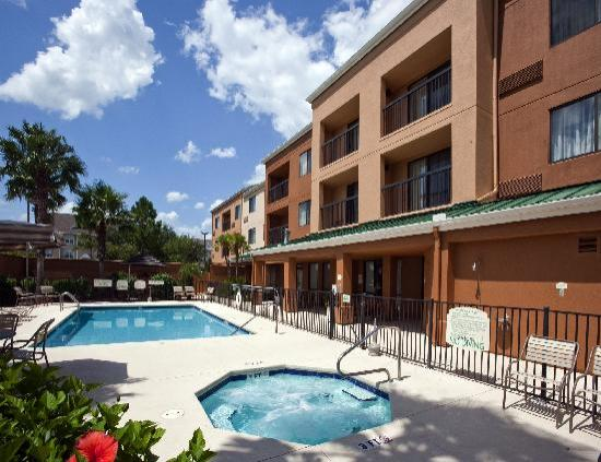 Hotel entrance picture of lakeland central florida for Tenoroc fish management area