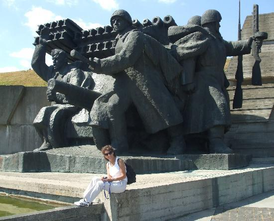 More Heroic Soviet Style Statues Picture Of Kiev