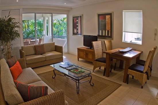 Mandalay & Shalimar Luxury Beachfront Apartments : 3 Bedroom Garden Apartment (standard)
