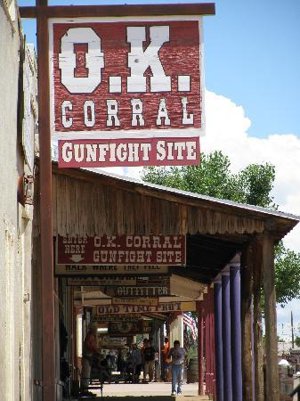 Tombstone, AZ : This is all you'll see
