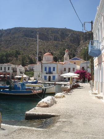 Kastellorizo, Yunanistan: Hafen