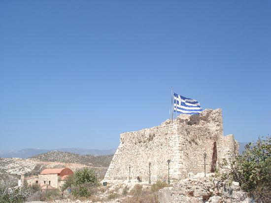 Kastellorizo, Yunanistan: Burg
