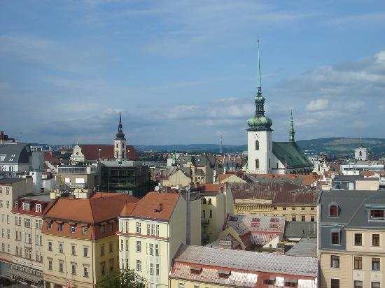 Brno, Tsjechië: View of the city