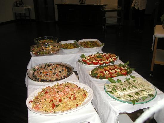 Hotel Cappelli: buffet