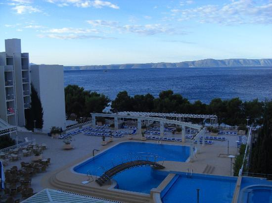 Tucepi, Croatia: 1st early morning picture from balcony