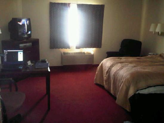 Candlewood Suites Detroit - Troy: Bed &amp; desk in studio room