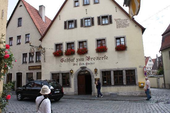 Photo of Gasthof Zum Breiterle Rothenburg ob der Tauber