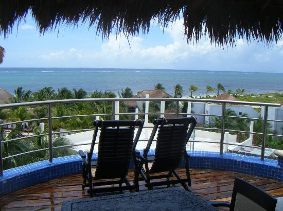 El Dorado Maroma, a Beachfront Resort, by Karisma: Talk about a room with a view...