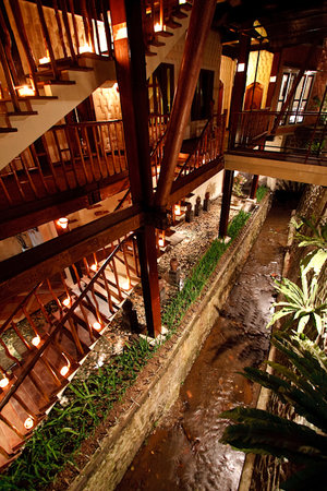‪‪Junjungan Ubud Hotel and Spa‬: Junjungan stairs‬
