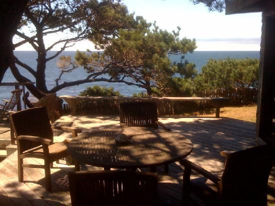 Serenisea Resort Cottages: This is the best place to have lunch!