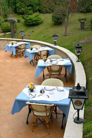Hotel Mediterran: garden and terrace