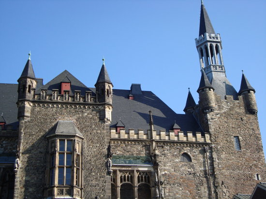 Aachen, Germany: Charlemagne&#39;s House