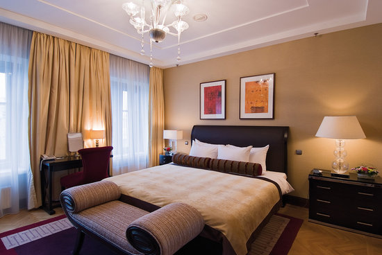 Corinthia Hotel St. Petersburg: Presidential suite bedroom