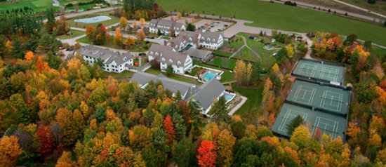 The Essex, Vermont's Culinary Resort & Spa: The Essex Resort & Spa's 18 acres