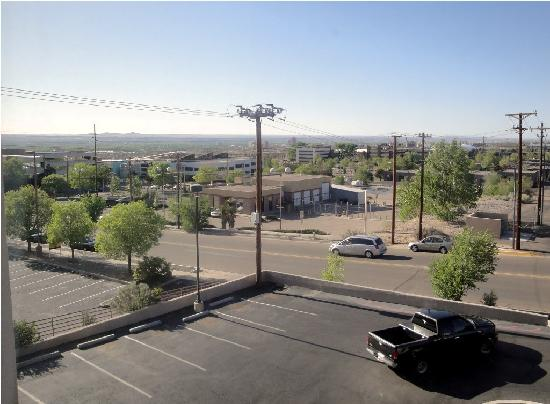 Hilton Garden Inn Albuquerque Airport: View from the room