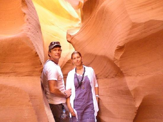Lake Powell Resort: lower Antelope Canyon, -einfach super!