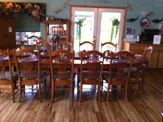 Minnie Street Bed and Breakfast: Ready for a fabulous breakfast!