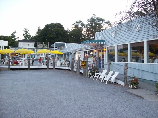 Lake Front Restaurant Cooperstown Ny