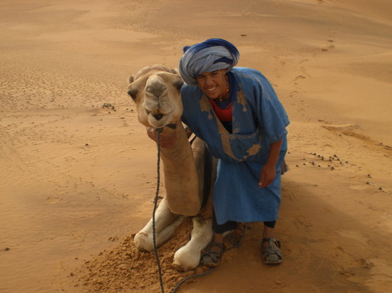 Hassilabied, : camel boy
