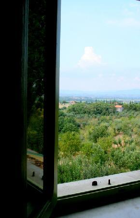 Campeggio Belmondo Montepulciano: View from our room