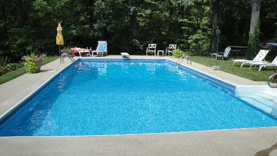 Cottages at Chesley Creek Farm: beautiful pool