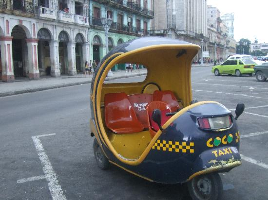 Casa Colonial Yadilis y Joel: coco taxi!