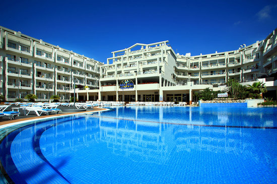 Aqua Hotel Aquamarina: Hotel Aquamarina en Santa Susanna, Barcelona