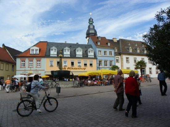 Speyer, Deutschland: Die Innenstadt.