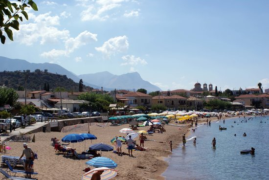 The Hotel Stoupa: Beach at Stoupa
