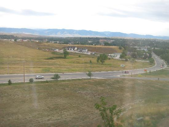 Hampton Inn Sheridan: View from room