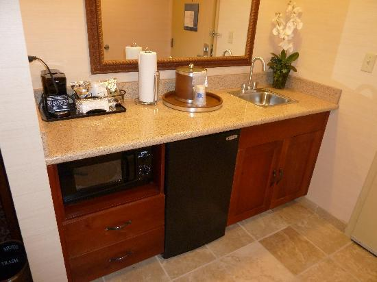 Hampton Inn Sheridan: as you walk in
