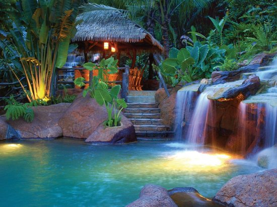 The Springs Resort and Spa at Arenal : Los Perdidos Hot Springs Bar