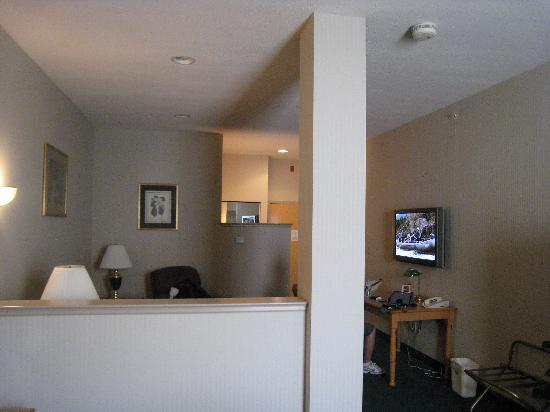 BEST WESTERN PLUS Revere Inn & Suites: Sitting area with flat panel tv