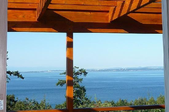 Highland Inn of San Juan Island: view from our balcony