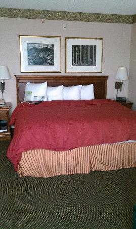 Country Inn & Suites By Carlson, San Diego North: The bed
