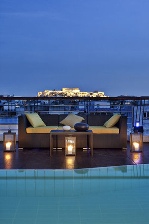 Melia Athens: Views of the Acropolis