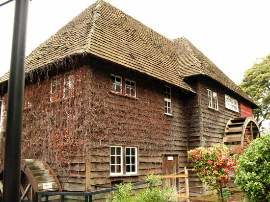 Launceston, Australi: Restored watermill