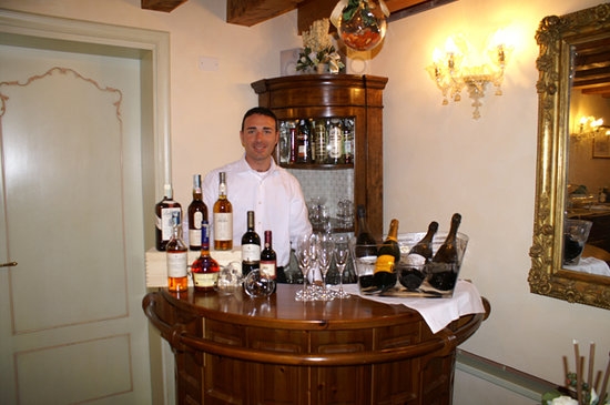 Hotel Tiziano : bar 