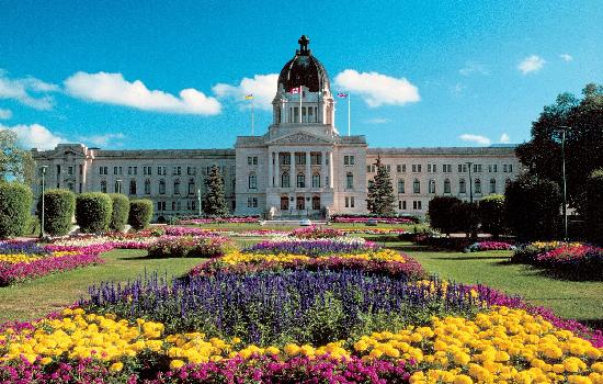 Saskatchewan Legislative Building in Regina