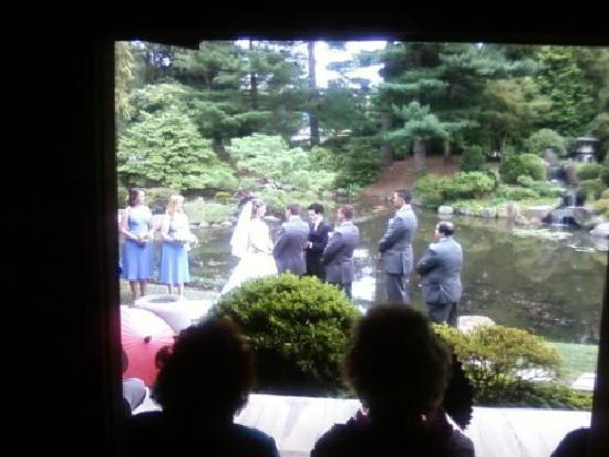 wedding at shofuso picture of shofuso japanese house and