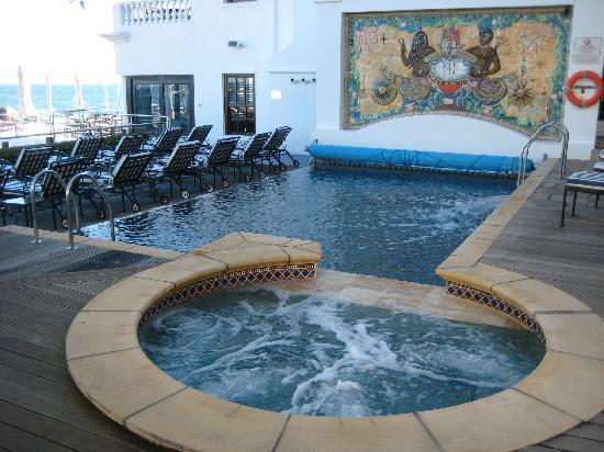 The Twelve Apostles Hotel and Spa: one of the swimming pools