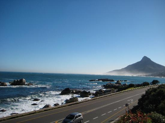The Twelve Apostles Hotel and Spa: view northward toward Camps Bay
