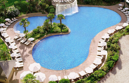 Grand Hyatt Santiago: Swimming pool