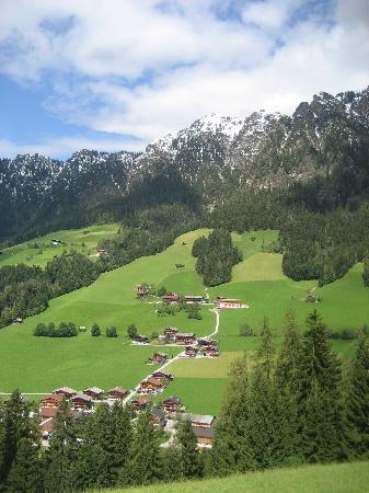 Alpbach, Austria: Views of the village