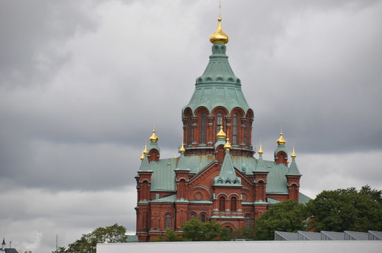 Helsinki, Finnland: Russische Uspenski-Kathedrale