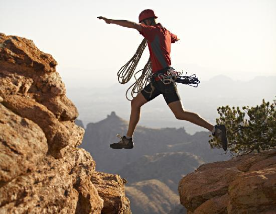 The five mountain ranges surrounding Tucson offer endless opportunities for climbers of every sk