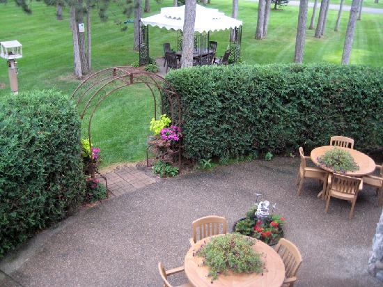 AmericInn Lodge & Suites Pequot Lakes: View from our balcony
