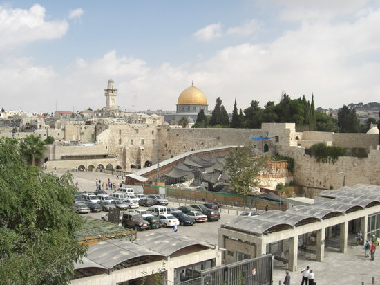 Jerusalem, Israel: Blick ber die Altstadt