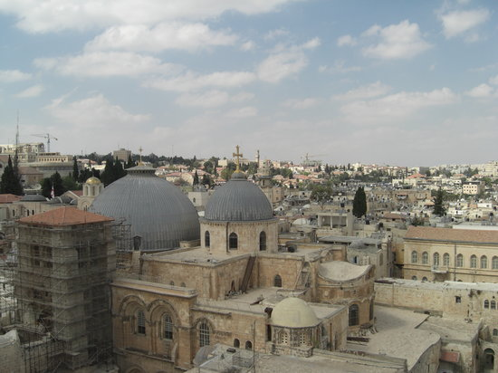 Yerusalem, Israel: Blick ber die Altstadt