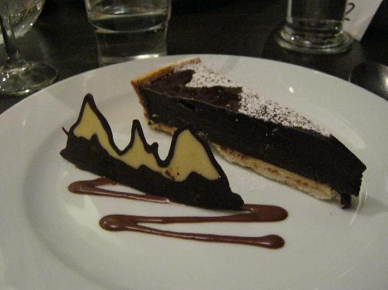 The Alps in chocolate - dinner at La Sapiniere